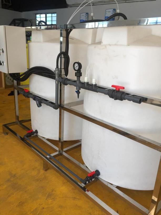 两桶量泵加药设备